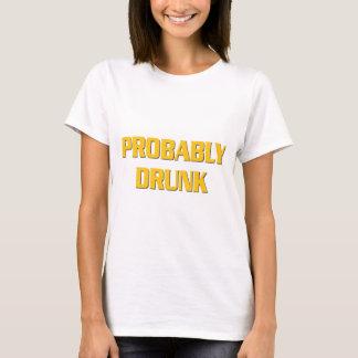 おそらく飲まれる Tシャツ