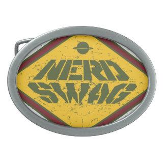 おたくのスワッグUFOのベルトの留め金 卵形バックル