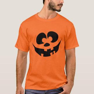 おっちょこちょいのでおもしろいなジャッキo'のランタンの顔 tシャツ