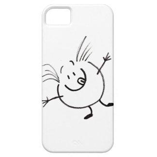 おっちょこちょいのな落書きの人のiPhone 5の場合 iPhone SE/5/5s ケース