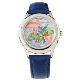 おとぎ話のドラゴンの子供の腕時計 腕時計