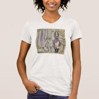 おとぎ話のファンタジーの女性のTシャツ Tシャツ