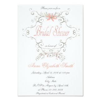 おとぎ話のブライダルシャワーの招待状 カード