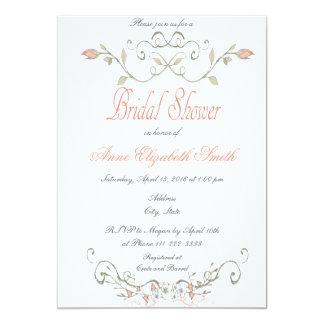 おとぎ話のブライダルシャワーの招待状II カード