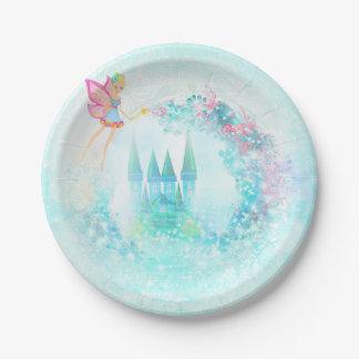 おとぎ話の城の紙皿 ペーパープレート