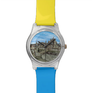 おとぎ話の城 腕時計