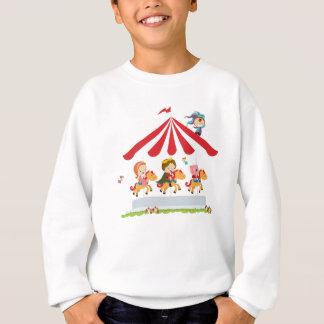 おとぎ話の王国からの王室のな回転木馬 スウェットシャツ
