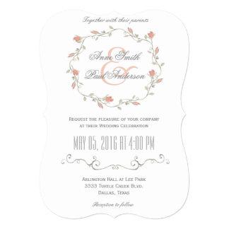 おとぎ話の結婚式招待状III カード