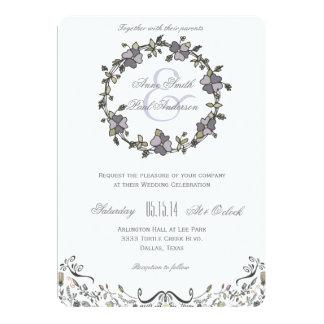 おとぎ話の結婚式招待状VI カード
