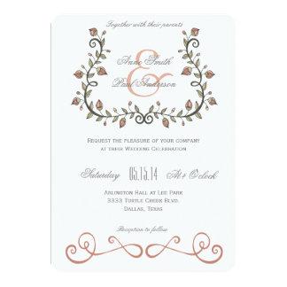 おとぎ話の結婚式招待状VII カード