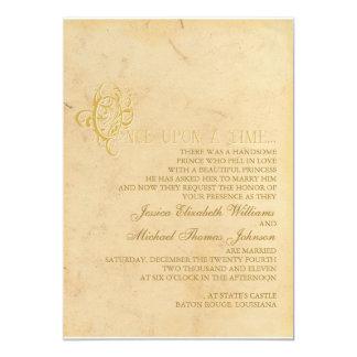おとぎ話の結婚式 カード