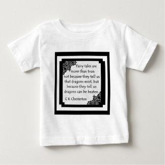 おとぎ話はあります… ベビーの衣服 ベビーTシャツ