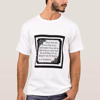 おとぎ話はあります… 人のワイシャツ Tシャツ