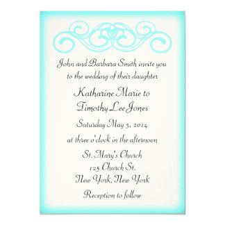 おとぎ話スクロール結婚式 カード