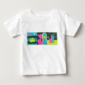 おとぎ話、プリンセス及びカエル ベビーTシャツ