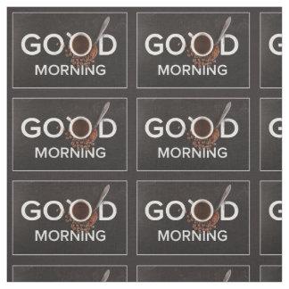 おはようのコーヒー生地 ファブリック
