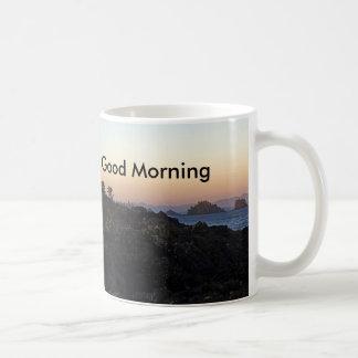 おはようのマグ コーヒーマグカップ