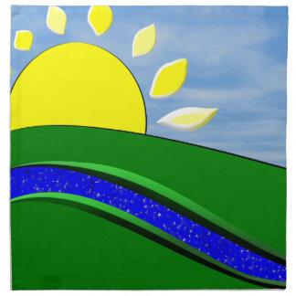 おはようの日光のMoJoのナプキン ナプキンクロス