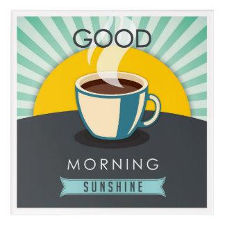 おはようの日光 アクリルウォールアート