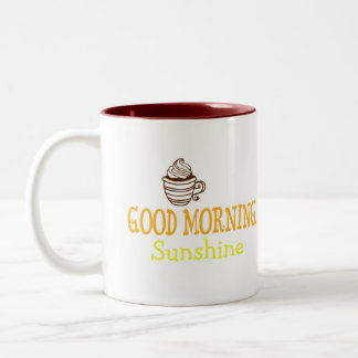 おはようの日光 ツートーンマグカップ
