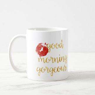 おはようの豪華なマグ コーヒーマグカップ