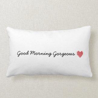 おはようの豪華な枕 ランバークッション