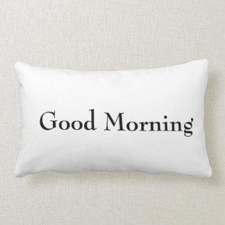 おはよう及び夜枕 ランバークッション