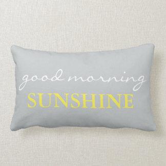 """""""おはよう日光""""のアクセントのベッド枕 ランバークッション"""