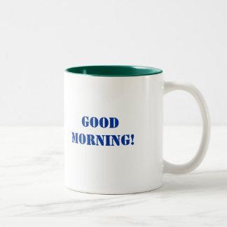 おはよう! 、おはよう! ツートーンマグカップ