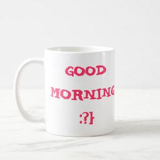 おはよう:か。} コーヒーマグカップ