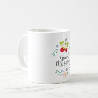 おはよう! コーヒーマグカップ
