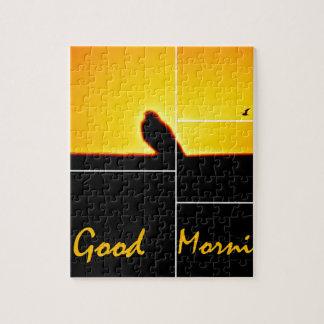 おはよう ジグソーパズル