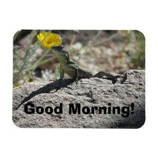 おはよう! トカゲの磁石 マグネット