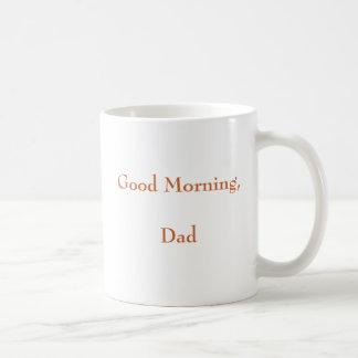 おはよう、パパ コーヒーマグカップ