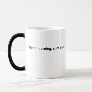 おはよう、日光! モーフィングマグカップ