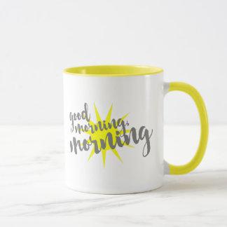 おはよう、朝 マグカップ