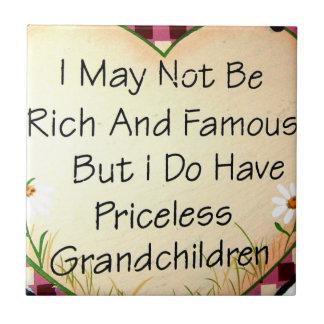 おばあさんのタイル タイル