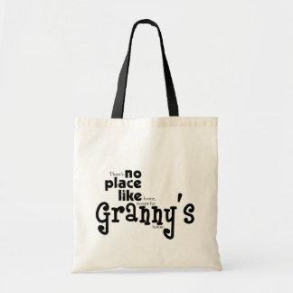 おばあさんのバッグのような場所無し トートバッグ