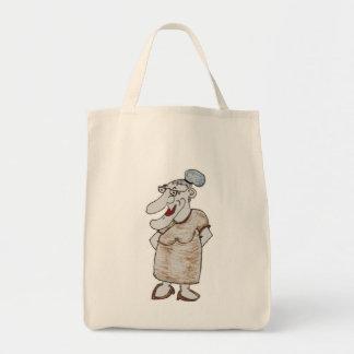 おばあさんのバッグ トートバッグ