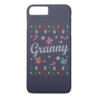 おばあさんの醜いクリスマス iPhone 8 PLUS/7 PLUSケース