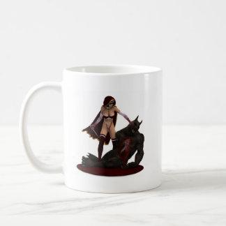 おばあさんはどこにいますか。 コーヒーマグカップ