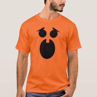 おびえさせていたカボチャ Tシャツ