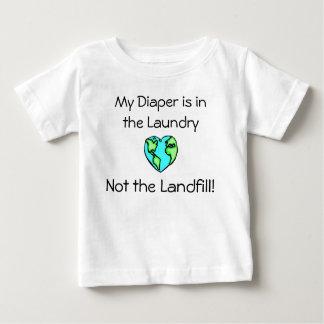 おむつの洗濯 ベビーTシャツ