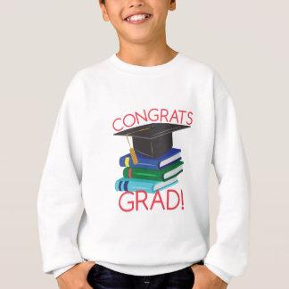 おめでとうの卒業生 スウェットシャツ