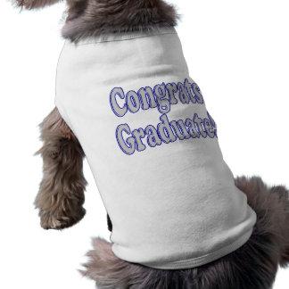 おめでとうは青及び銀を卒業させます ペット服
