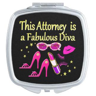 おもしろいおよびすばらしい弁護士の花型女性歌手のデザイン