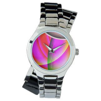 おもしろいおよびカラフル 腕時計