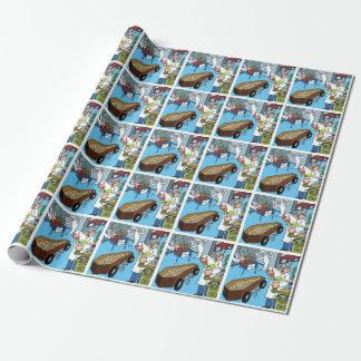 おもしろいおよび明るい包装紙 ラッピングペーパー