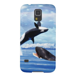 おもしろいおよび演劇の夢みるようなクジラ GALAXY S5 ケース