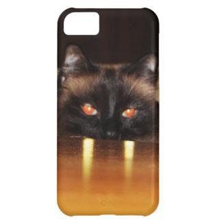 、おもしろいかわいい、吸血鬼猫 iPhone5Cケース